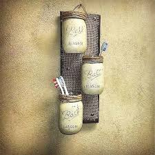 country themed reclaimed wood bathroom storage: mason jar decor pallet wood rustic cottage storage three wall sconce rustic