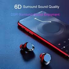 A6 TWS In-ear Birthdays <b>Exercise</b> Gifts <b>Multifunction Mini</b> Stereo ...