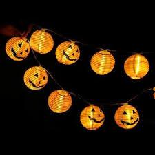 <b>Halloween</b> Fairy String Light Ghost <b>Pumpkin</b> Lamp Party <b>Decor</b> ...