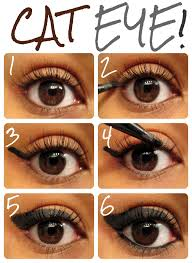 tips and tricks the perfect cat eye using liquid liner how to do middot liquid eyeliner