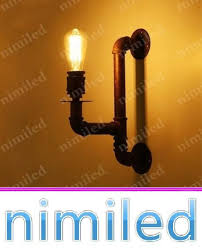 2019 Nimi815 <b>Single Head Vintage</b> Wrought Iron <b>Wall</b> Lamp Sconce ...