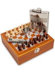 """Подарочный <b>набор</b> фляжка 220 мл со стопками """"<b>Шахматы</b>"""" Art ..."""