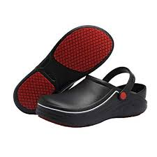 EASTSURE <b>Slip Resistant</b> Kitchen Shoes Chef Clogs <b>Multifunctional</b>