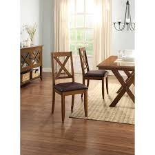 transitional dining chair sch: better homes and gardens maddox crossing dining chair set of  brown walmartcom