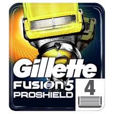 Сменные <b>кассеты Gillette Fusion</b> ProShield (<b>4 шт</b>.), купить по цене ...