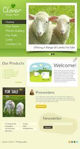 sheep farm facebook html cms template