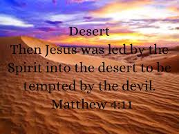 Image result for Jesus was tempted by the Devil