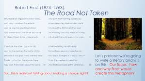 robert frost the road not taken essay poem analysis essay on the road not taken slideshare poem analysis essay on the road not taken slideshare