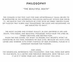 philosophy debellemort