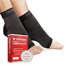 TEKNISOX <b>Premium Pain</b> Relief Compression Socks for Plantar ...