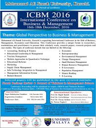 icbm international conference on business management professionals and researchers are allowed to bring out their ideas to solve industry problems through research reference to current requirement and