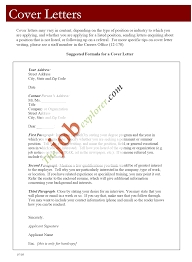 General Resume Cover Letter  general cover letter example for       cover resume