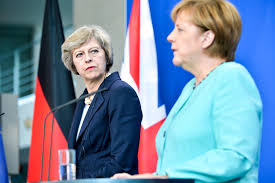 Image result for merkel/May