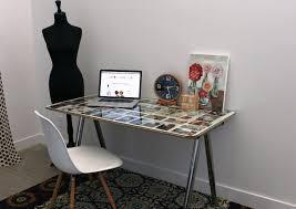 image of computer desk ikea glass top black ikea glass top desk