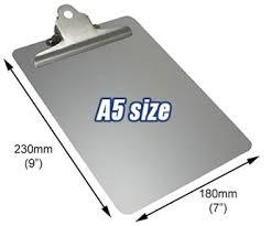 aluminum clip boards a5 clipboard clip boards
