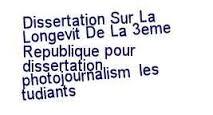 Dissertation photojournalism