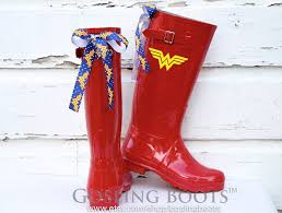 Wonder <b>Woman</b>, Rain Boots, Red <b>Rubber</b> Boots, Wonder <b>Woman</b> ...