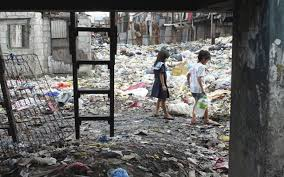 In the slums of Manila  inequality is so bad that the worst off     In the slums of Manila  inequality is so bad that the worst off have no chance to protest