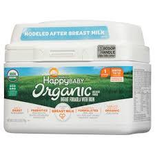 <b>Happy Baby</b> Stage 1 Infant Formula With Iron Powder - 21oz : Target