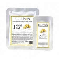 <b>Альгинатная маска Ellevon</b> Gold Modeling Mask гель+коллаген ...