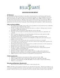 sample resume for housekeeping job   viobo resume  the real thingbest hair stylist resume example