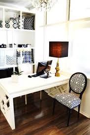 cococozy headquarters hq office decor decorating design white glossy lacquer fretwork black white home office cococozy 5