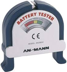 <b>Ansmann 4000001 Battery Tester</b>, Warranty: 1 Year: Amazon.co.uk ...