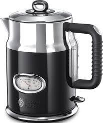 Электрический <b>чайник Russell Hobbs Retro</b> 21671-70, цвет черный