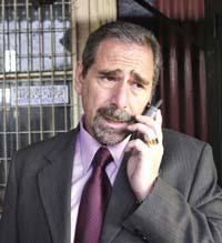 DYN02.JPG. Luego de estar prófugo durante una semana, el ex secretario de Transporte Ricardo Jaime se presentó esta mañana en el juzgado de Claudio Bonadio, ... - 9-RicardoJaime