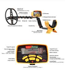 <b>Underground Metal Detector</b> Professional MD6350 Gold Digger ...