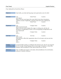 resume builder in word  seangarrette coresume