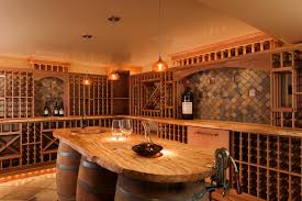 wood choices for your wine cellar mahogany wine cellars traditional wine cellar