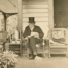 ulysses s grant styling on the porch in oldschoolcool ulysses s grant styling on the porch in 1885