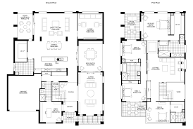 New best two story house plansGrangedouble Floor plan friday big double storey