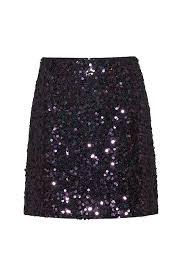 HUGO - <b>Slim</b>-<b>fit</b> sequined <b>mini</b> skirt with concealed zipper