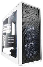 Компьютерный <b>корпус Fractal Design Focus</b> G White — купить по ...