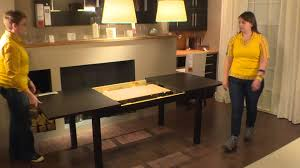 ikea black brown dining table  maxresdefault