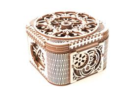 Купить 3D-пазл <b>UGears Шкатулка</b> с секретом (Treasure Box ...