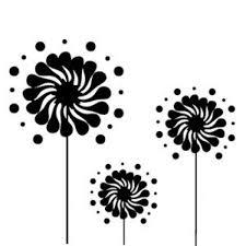 Free Vector   Black sun <b>flowers</b>