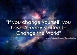 change the world transforminglifenow the only thing