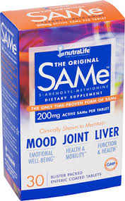 <b>SAMe</b> 200mg 30 enteric coated tablets | Nutralife Health Products Inc.