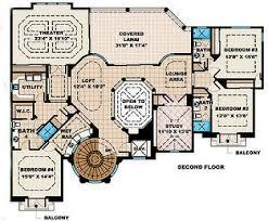 Castello Dal Mare Beach House Plan    ALP  CS   Chatham Design    Floor Plans for House Plan  ALP  CS