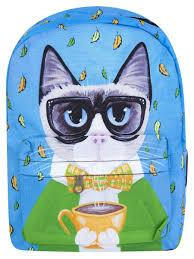 """<b>Рюкзак</b> """"Уютный кот"""" (голубой) <b>Kawaii Factory</b> 9114721 в ..."""