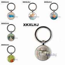 <b>XKXLHJ</b> Creative Fun Cat Fish Best Friend <b>Key Chain</b> Handmade ...