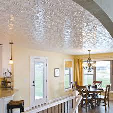 sagging tin ceiling tiles bathroom:  dining