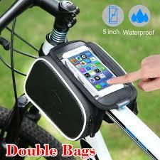 <b>Bicycle Bag Phone Bag Bike Phone Bag</b> With Touchable PVC ...