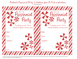 holiday party printable peppermint party invitations and ideas b nute productions printable peppermint party invitations