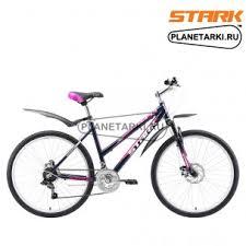 <b>Велосипед Stark Luna 26.1</b> D 2016 черно-фиолетовый