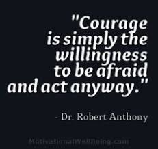 Courage Quotes on Pinterest | Defeated Quotes, Strength Quotes and ... via Relatably.com