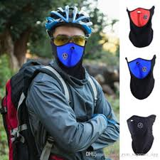 Blue Winter <b>Warm</b> Ski <b>Bicycle Cycling</b> Sports Half Face <b>Mask</b> Cover ...